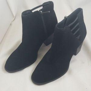 Jessica Simpson Yasma Block-Heel Booties 6.5M